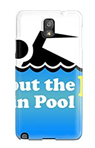 Awesome Design Swimming Pool Hard Case Cover For Galaxy Note 3