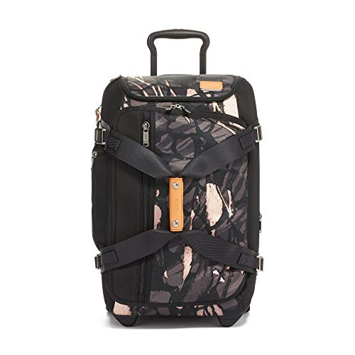 Briefcase Removable Ladies Wheeled (TUMI - Merge Wheeled Duffel Packing Case Medium Suitcase - Rolling luggage for Men and Women - Grey Highlands Print)
