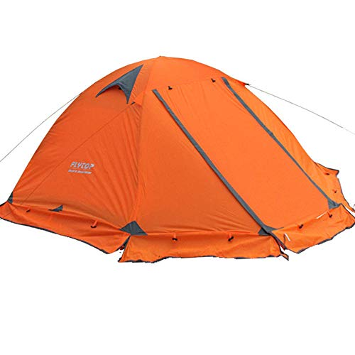 YANKK Ultralight Tents with a Small Pack Size, Windproof and Waterproof Pu 4000mm, Dome Tent Immediate Erection for…