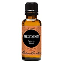 Meditation Synergy Blend Essential Oil- 30 ml (Ylang Ylang, Patchouli, Frankincense, Clary Sage, Sweet Orange & Thyme)