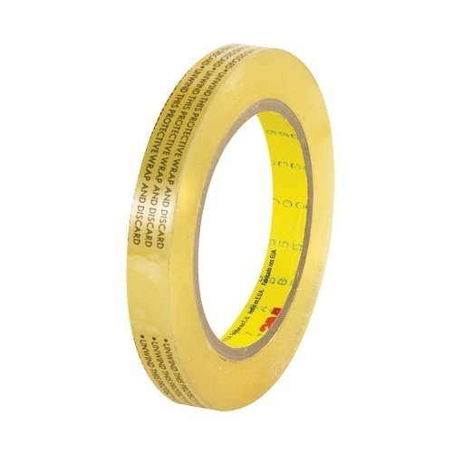 3M Scotch 665 Removable Repositionable Double Sided Tape (Linerless): 1/2 in. x 72 yds. (Clear)