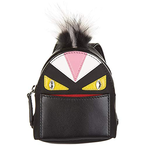 Fendi charm de bolso mujerbugs negro