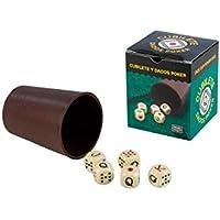 Falomir- Cubilete Póker, Juego de Mesa, Clásicos, (27930)