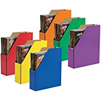 Classroom Keepser Magazine Holders, 6 Assorted Colors, (001327) (3, DESIGN 1) Classroom-ft