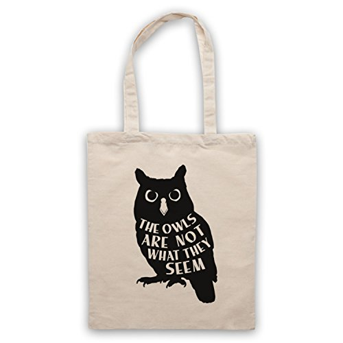Bag Unofficial Not Tote Peaks Owls Twin What Are They Seem Natural Inspired The by c6Cw7Wa