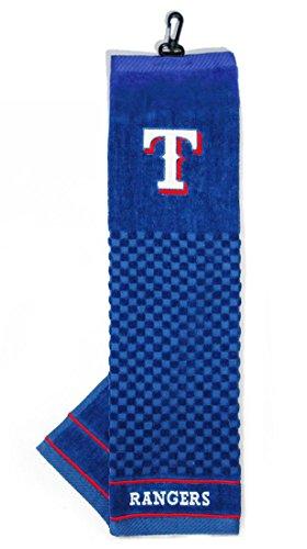 MLB Texas Rangers Embroidered Golf Towel (Mlb Golf Texas Rangers)