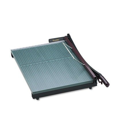 Premier StakCut Green Board Trimmer, Cut Stacks of up to 30 Sheets, Steel Blade, Green (PRE724)