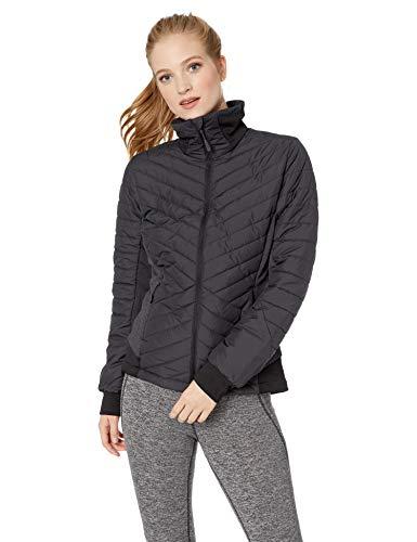 (Jack Wolfskin Women's Lyse Valley Insulated Hybrid Down-Fiber Jacket, Phantom, Large)
