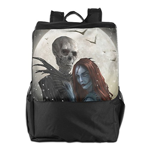 [Nightmare Before Christmas Halloween Sports Shoulder Backpack] (Boogie Man Nightmare Before Christmas Costumes)