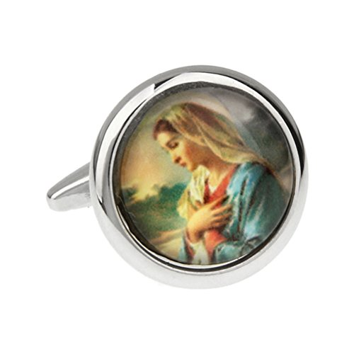 Film Printing Religion Catholic Church Virgin Mary Cufflinks Cuff Links