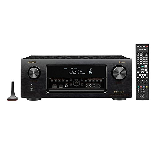 Denon AVRX4400H 9.2 Channel Full 4K Ultra HD Network AV Receiver with HEOS black (Certified Refurbished)