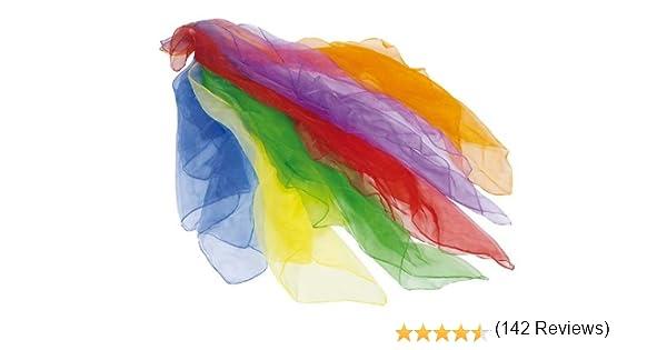 Nylon Scarves for Juggling (Accesorio de Disfraz) [Importado ...