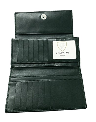 RFID bloccando il progettista di qualità delle signore morbido pecora borsa in pelle borsa nero