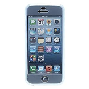 ZXC Protective Silicone Case for iPhone 5/5S(Assorted Color) , Blue
