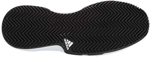 adidas Men's Gamecourt, White/Black/Grey 6.5 M US by adidas (Image #3)
