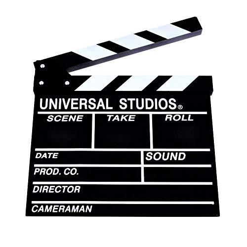 POSITIVE 영화 촬영용 본격 할리우드 바람 클래퍼 보드  뒤는 흑판 으로서 쓸만한! 멋쟁이 인테리어 에!  (통상 사이즈 (30cm×27cm))