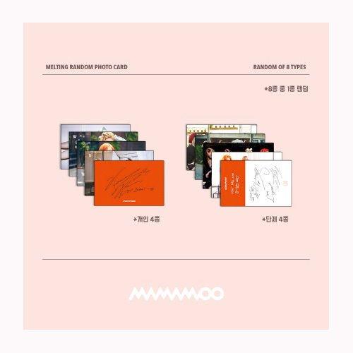 MAMAMOO - MELTING (Vol  1) CD + Photo Booklet + Photocard CD