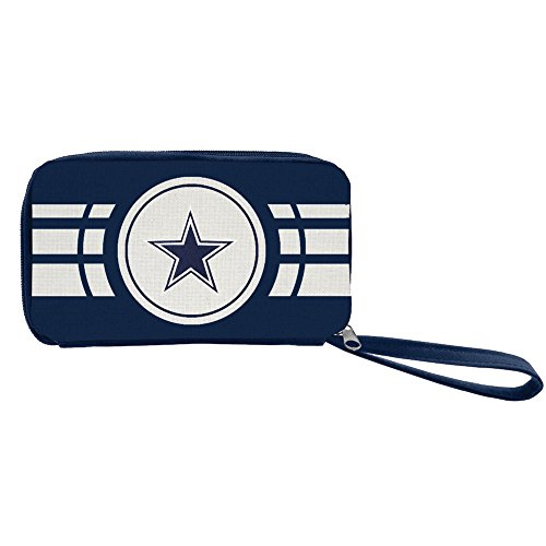 NFL Dallas Cowboys Ripple Zip Wallet (Best Wallet For Ripple)