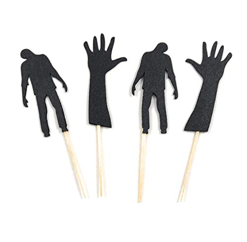 Zombie Cupcake Toppers - Set of 12