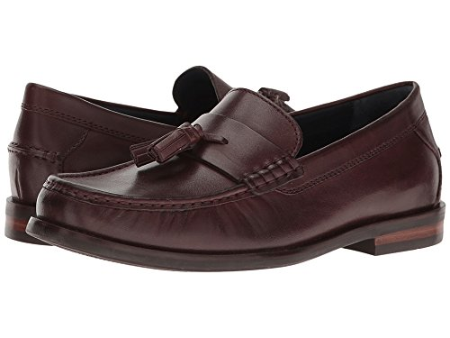 Cordovan Loafer Penny (Cole Haan Men's Pinch Friday Tassel Contemporary Penny Loafer, Cordovan Handstain, 12 M US)