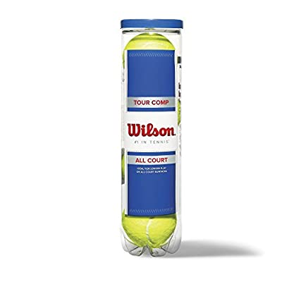 Wilson Tour Competition Tennis Balls (4 Ball Can)