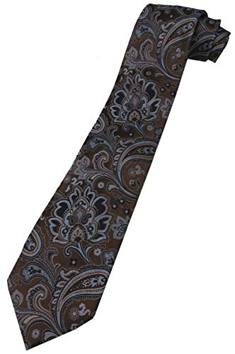 Donald Trump Signature Collection Necktie Brown Paisley - Trump Collection Signature