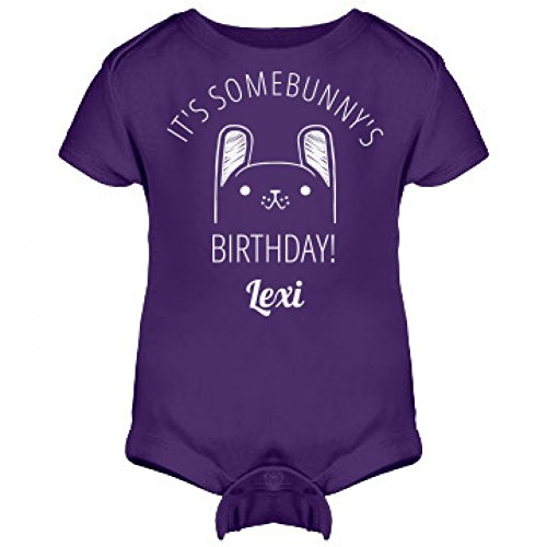 It's Some Bunny's Birthday Lexi: Infant Rabbit Skins Lap Shoulder Creeper (Lexi Bunny)