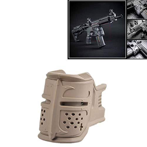 WYMDDYM AR-15 Standard Magazine Decoration Grip Tactical Improved Grip Cover (Khaki)