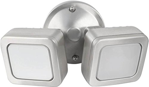 Feit Electric - Dusk to Dawn Mini Dual Flood LED Security Outdoor Light, 5000K (73708) by Feit Electric
