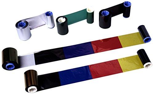 Zebra Technologies 05095BK06045 Black Resin Ribbon, 2.36