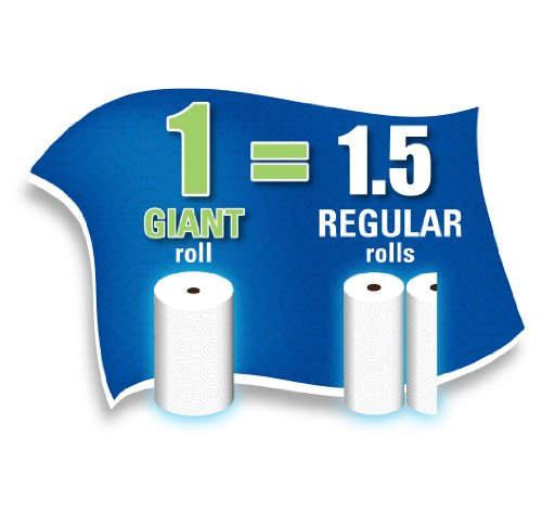 Sparkle Paper Towels, 24 Giant Rolls, Pick-A-Size, White