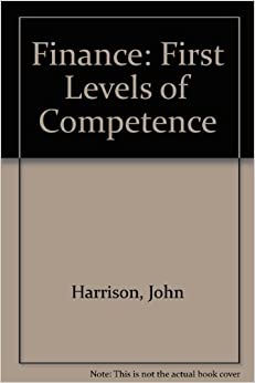 Finance: First Levels of Competence