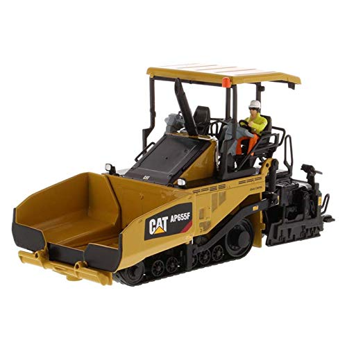 Diecast Masters CAT Caterpillar AP655F Tracked Asphalt Paver with Operator High Line Series 1/50 Diecast Model 85590