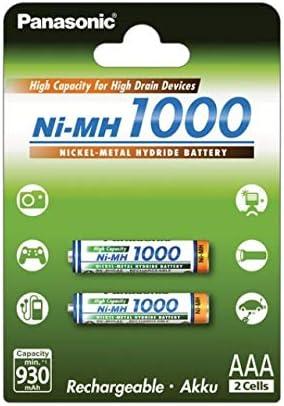 Panasonic Micro-Batería HHR-55AAAB AAA 1000mAh: Amazon.es: Electrónica