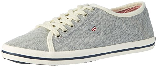 New Sneaker Gris Gant Haven Basse chiné Donna Grau danTw1