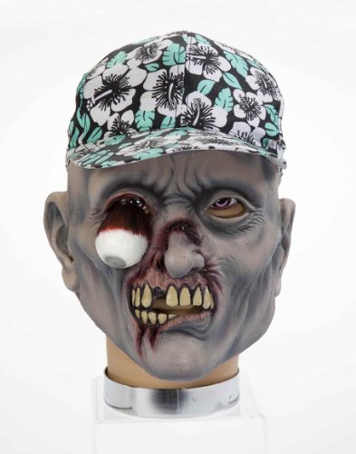 [Forum Novelties Zombie Mask with Hat, Percy] (Hillbilly Kids Costume)
