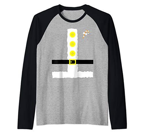 Dwarf Costume T-Shirt Funny Halloween Gift Raglan Baseball Tee]()
