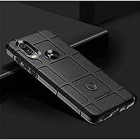 Capa Tpu Antishock Rugged Shield Reforçada Motorola One Vision (Preta)