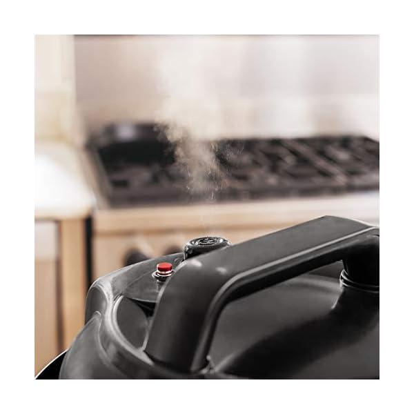 Ninja Instant, 1000-Watt Pressure, Slow, Multi Cooker, and Steamer with 6-Quart Ceramic Coated Pot & Steam Rack (PC101… 6