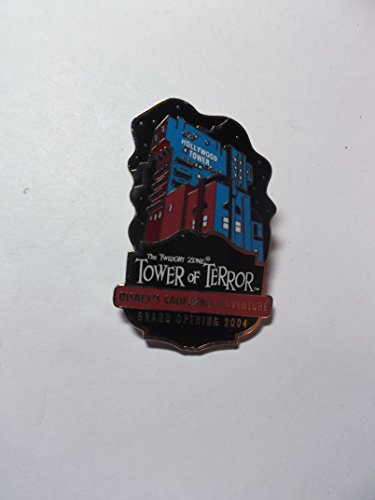 Disney Pin, Costco, Tower of Terror, Haunted Mansion Movie Pin, LE 5000, PinPic # 30023, Gift only, not for sale