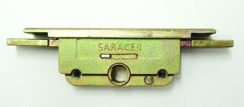 Saracen FM Window Lock Gearbox - serrated connection to shootbolts. 20mm backset, 9.5mm latch Handles and Hinges
