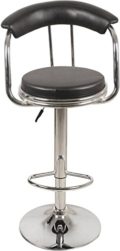 DEVICE IN LION Chrome Adjustable BAR Stool (Heavy)