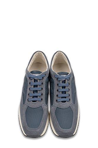 Hogan Sneakers Uomo HXM00N00E10B2A9998 Tessuto Blu