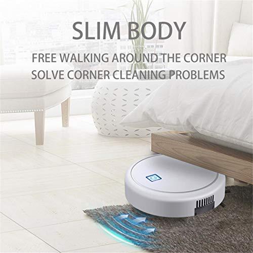 melysUS Robot Vacuum Cleaner,Sweeping Robot Intelligent Home Automatic Scrub Floor Mopping Multi-Function,Cleans Medium-Pile Carpets+Pet Hair Robotic Vacuums