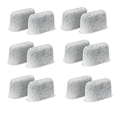 Replacement Charcoal Water Filters -Removes Chlorine, odors, and others impurities from Water-for Coffee Machines