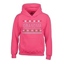 Shop4Ever Gift for Grandma Hoodies Ugly Sweater Sweatshirts