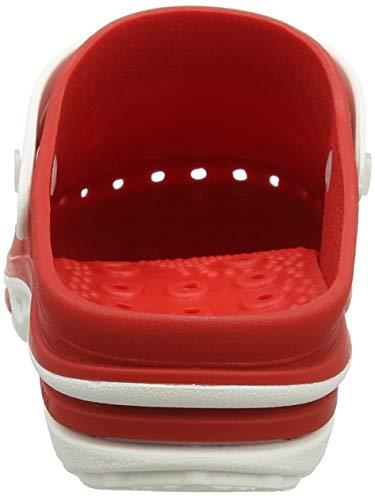 Sterilizzabile; Antiurto Bianco Clog Antiscivolo; Professionale Wock Calzatura rosso Antistatica; ZtFwq