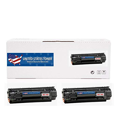 (United States Toner Compatible MICR Toner Cartridge 2-Pack Replacement for Canon CRG-137 9435B001AA ImageCLASS MF210, 220 Series. Yields up to 2400 Pages.)
