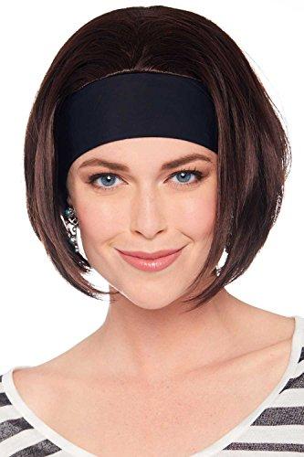 Cardani Headband Bob by Wigs 10R - Marble Brown by Cardani