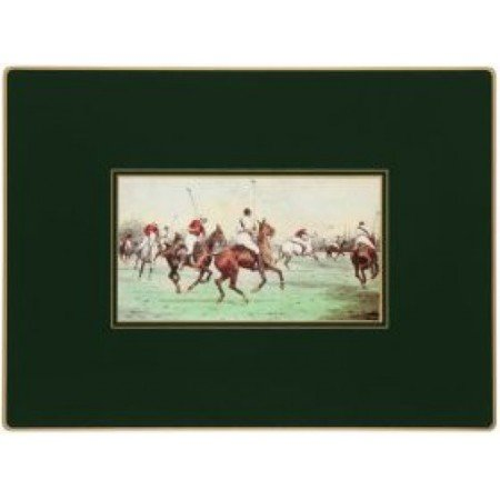 Lady Clare English Continental Placemats - Modern Polo - Set of 4 - 15.5 x 11.5 inch by Lady Clare Placemats